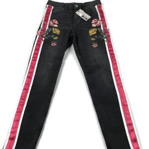 TopShop Moto Jeans Size 26 x 30 Ankle Grazer